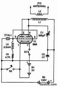 F M Transmitter Circuit Diagram