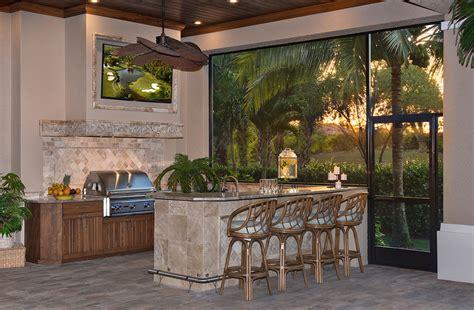 outdoor kitchen remodel fort myers fl progressive design