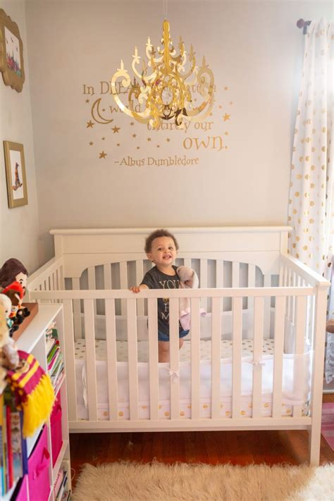 harry potter nursery   nursery girl decor