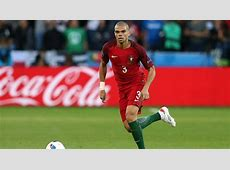 Euro 2016 final Pepe starts for Portugal, France