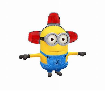 Minion Despicable Models Resource Rush Clipart Alarm