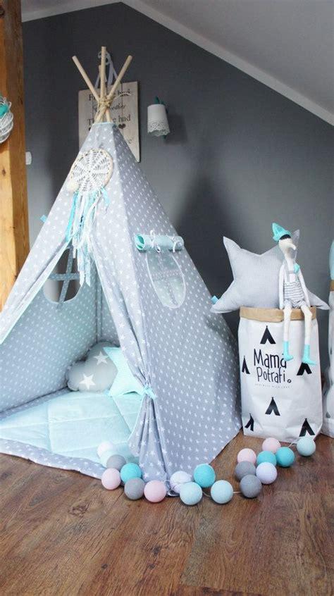 Zelt Kinderzimmer Junge by Play Tent Gray Teepee Mint Teepee Tent Teepee
