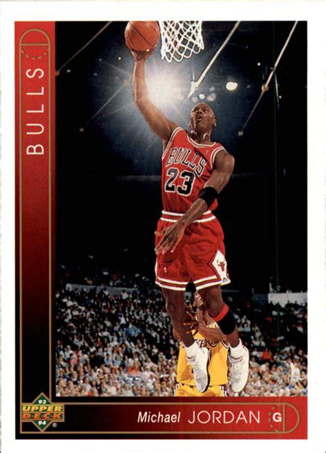 199394 Upper Deck Basketball #23 Michael Jordan Chicago