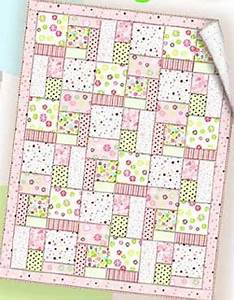 Essential Flannel Baby Quilt Free PDF Pattern The Self