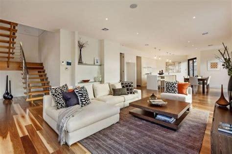 Offener Wohnbereich Wohnideen by Wohnhaus Melbourne Offener Wohnbereich Sofa Holz