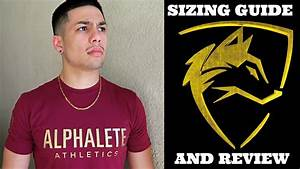 Alphalete Athletics Clothing Review & Sizing Guide (MAY ...