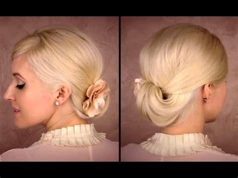 Hair Work by Updo For Medium Hair Tutorial For Work