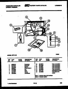 Frigidaire Freezer Parts Manual