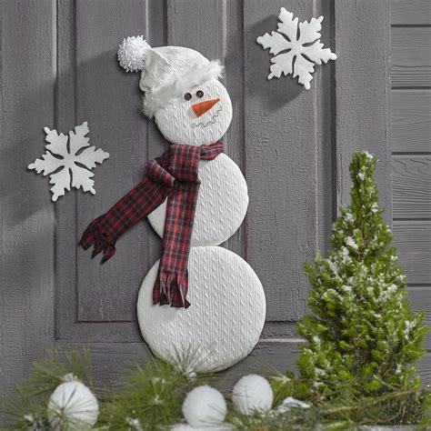 snowman door decor favecraftscom