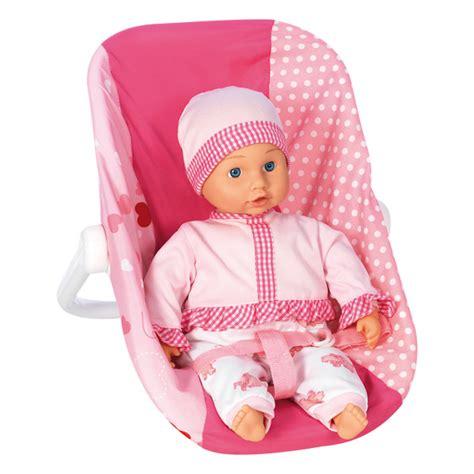sieges bebe siège auto pour poupée bebe king jouet accessoires