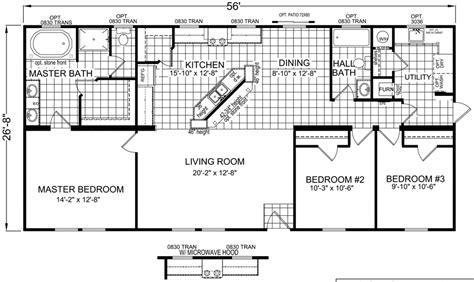 Falk 28 X 56 1493 sqft Mobile Home   Factory Expo Home Centers