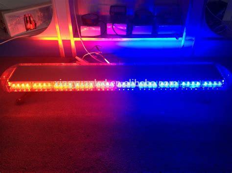 blue led emergency signal light bar for cars