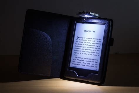 Kindle With Light by Forefront Cases 174 Leather Cover With Led Light