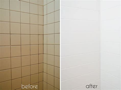 bathroom tile makeoverwith paint diy painting