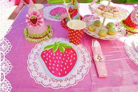 vintage strawberry shortcake st birthday party minted
