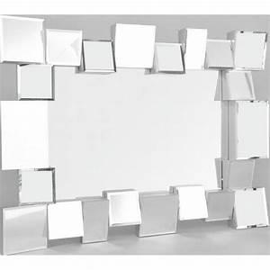 Miroir Rectangulaire Pas Cher : miroir rectangulaire design blanche neige coule achat ~ Dailycaller-alerts.com Idées de Décoration