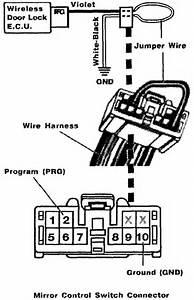 1998 Camry Door Lock Diagram