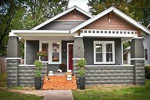 Brick Craftsman Bungalow Style Homes Pix For Brick