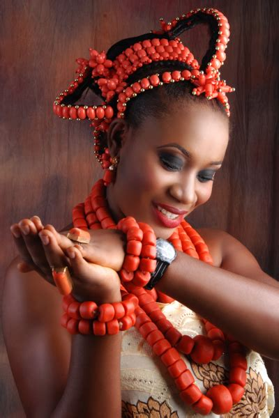 bn bridal beauty traditional benin brides