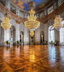 Marble Hall, Ludwigsburg Palace, Ludwigsburg, Germany-If ...