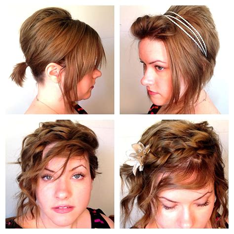 4 easy school work hairstyles for short hair hair hair