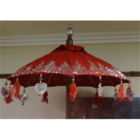 3 tiered white outdoor umbrella jade pagoda