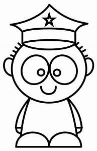 How To Draw Cartoons Police Man