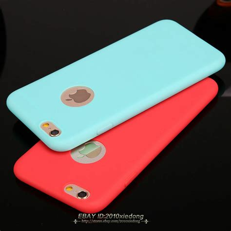 Silikon Hp Iphone 6plus 5 5 color ultra thin tpu soft phone cover for
