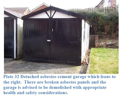 demolishing  dispose  asbestos detached garage