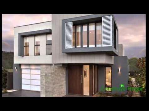 Planos de casas de dos pisos con fachadas modernas YouTube