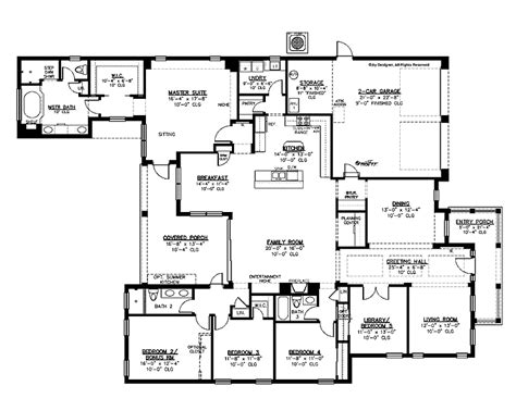 5 bedroom house plans 2 301 moved permanently