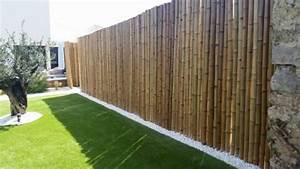 Bambou Brise Vue : clotures brise vue bambou bambou grossiste ~ Premium-room.com Idées de Décoration
