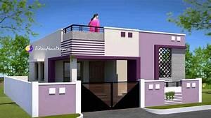 House Model Design In Tamilnadu Style YouTube