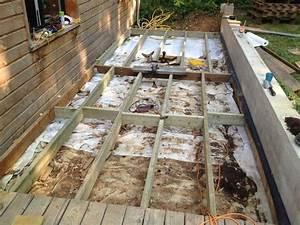 Support Terrasse Bois : fondations pour terrasse bois auto construction les ~ Premium-room.com Idées de Décoration
