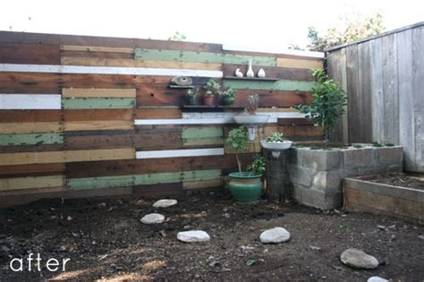 Cool Recycled Metal Fence