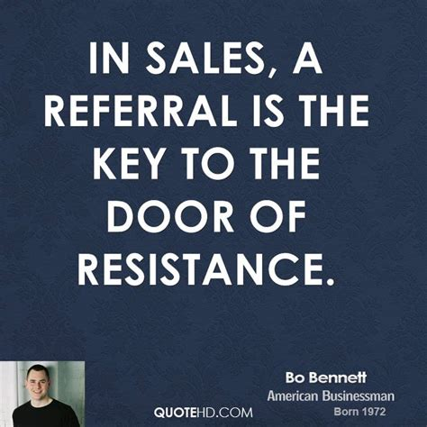 Sales Referral Quotes