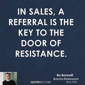 Bo Bennett Quot... Inspirational Referral Quotes