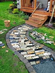 creer le plus beau jardin avec le gravier pour allee With idee allee de jardin