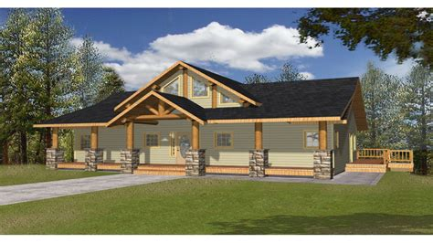aa frame houses large  frame house plans  porch lake front house plans treesranchcom
