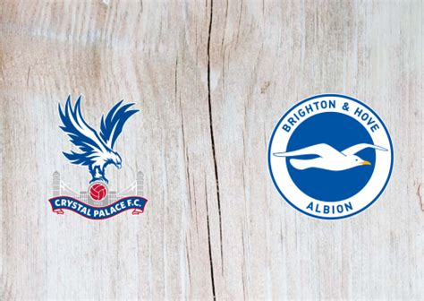 Crystal Palace vs Brighton & Hove Albion -Highlights 18 ...