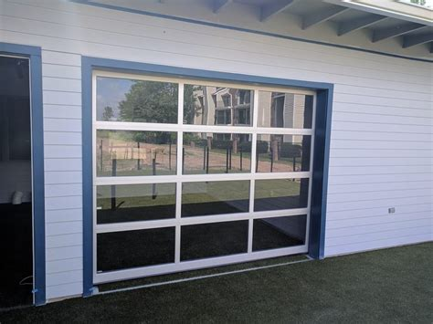 view garage door view glass garage doors recent install lafayette