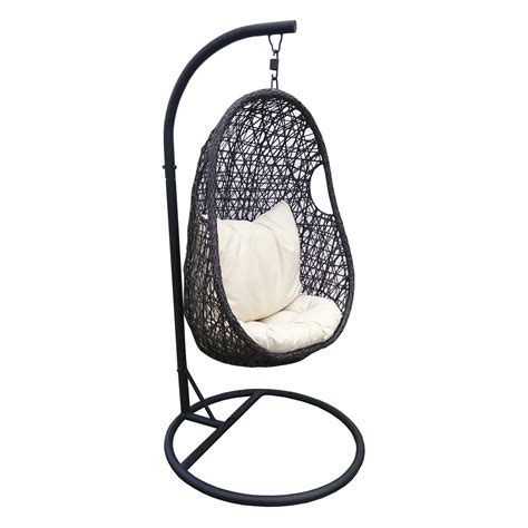 chaise suspendue en resine tressee leroy merlin