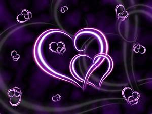 PURPLE HEART Wallpaper, Background, Theme, Desktop