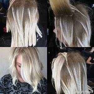 Ombre Hair Blond Polaire : icey blonde some romeufelipe style freehand balayage using pravana guy tang balayage ~ Nature-et-papiers.com Idées de Décoration