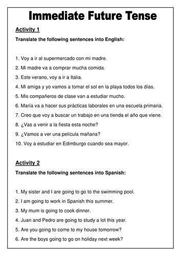future tense worksheet worksheets for school