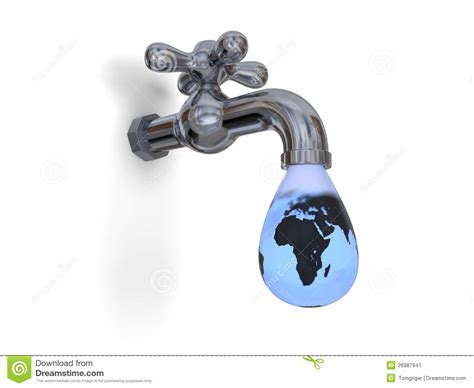 dripping water tap stock image image