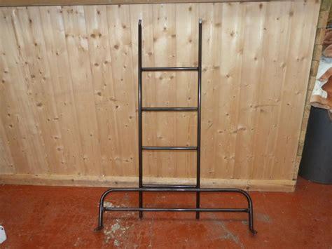 caravan metal bunk bed ladder   piece campervan