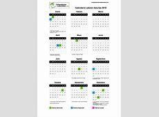 Calendario Laboral Asturias 2019