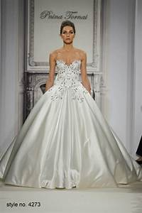 gorgeous sweetheart satin embroidery ball gown pnina With pnina wedding dresses