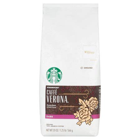*it's tough to tell the difference between a starbucks caffeinated and decaffeinated coffee. Starbucks Dark Caffe Verona Ground Coffee 20 oz. Bag - Walmart.com